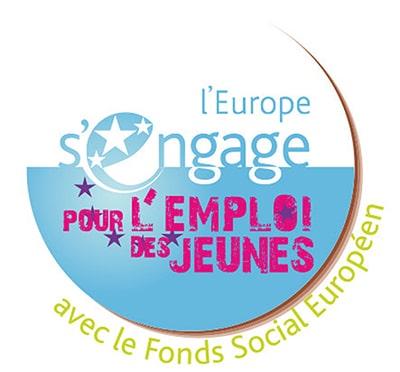 Logo IEJ parcours pour les jeunes en recherches d'emploi