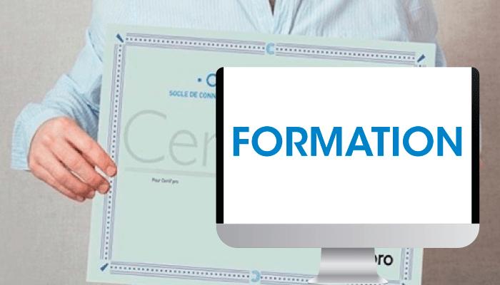 Formation certification cléa numérique